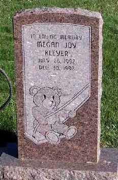 KLEYER, MEGAN JOY - Sioux County, Iowa   MEGAN JOY KLEYER