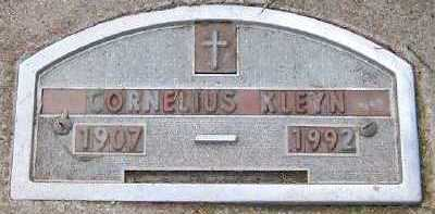 KLEYN, CORNELIUS - Sioux County, Iowa | CORNELIUS KLEYN