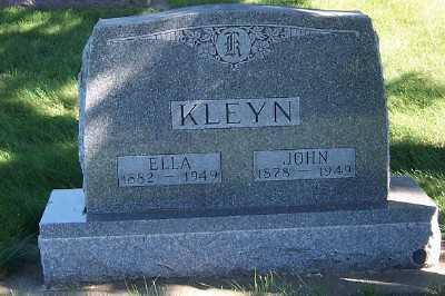 KLEYN, ELLA - Sioux County, Iowa | ELLA KLEYN