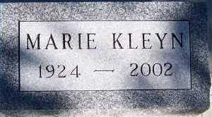 KLEYN, MARIE - Sioux County, Iowa | MARIE KLEYN