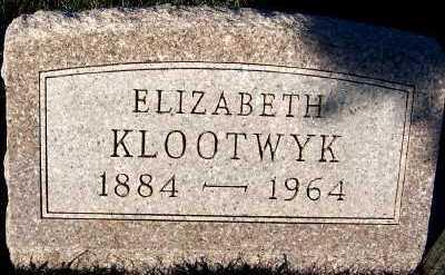 KLOOTWYK, ELIZABETH - Sioux County, Iowa   ELIZABETH KLOOTWYK
