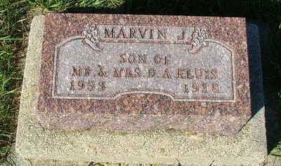 KLUIS, MARVIN J. - Sioux County, Iowa   MARVIN J. KLUIS