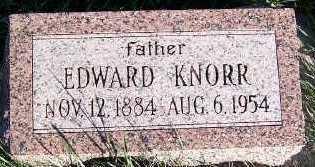 KNORR, EDWARD - Sioux County, Iowa | EDWARD KNORR