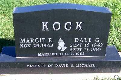 KOCK, DALE G. - Sioux County, Iowa   DALE G. KOCK