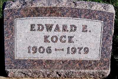 KOCK, EDWARD E. - Sioux County, Iowa | EDWARD E. KOCK