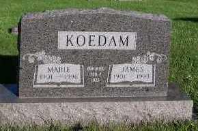 KOEDAM, JAMES - Sioux County, Iowa | JAMES KOEDAM