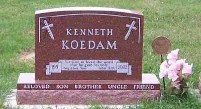 KOEDAM, KENNETH - Sioux County, Iowa | KENNETH KOEDAM