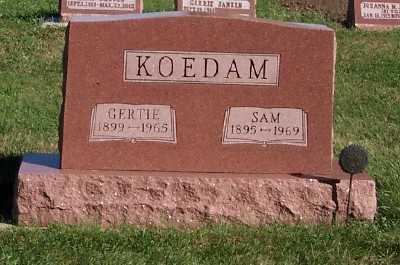 KOEDAM, SAM - Sioux County, Iowa | SAM KOEDAM