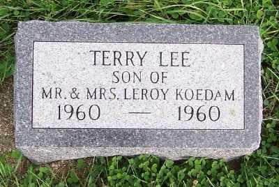 KOEDAM, TERRY LEE - Sioux County, Iowa | TERRY LEE KOEDAM