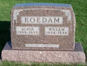 KOEDAM, ALIDA - Sioux County, Iowa | ALIDA KOEDAM