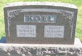 KOEL, HERBERT (1866-1954) - Sioux County, Iowa   HERBERT (1866-1954) KOEL