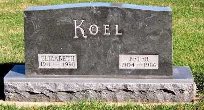 KOEL, PETER - Sioux County, Iowa | PETER KOEL