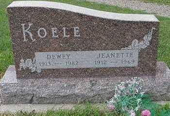 KOELE, DEWEY - Sioux County, Iowa | DEWEY KOELE