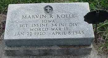 KOELE, MARVIN R. - Sioux County, Iowa | MARVIN R. KOELE