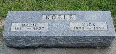 KOELE, NICK - Sioux County, Iowa | NICK KOELE
