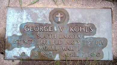 KOHLS, GEORGE V. - Sioux County, Iowa | GEORGE V. KOHLS