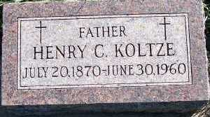 KOLTZE, HENRY C. - Sioux County, Iowa | HENRY C. KOLTZE