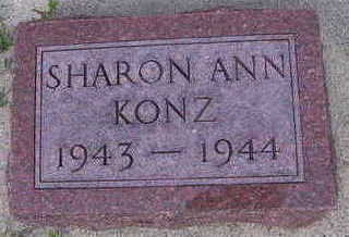 KONZ, SHARON ANN - Sioux County, Iowa | SHARON ANN KONZ