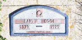 KOOI, BABY (1979) - Sioux County, Iowa   BABY (1979) KOOI