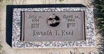 KOOI, DONALD L. - Sioux County, Iowa   DONALD L. KOOI