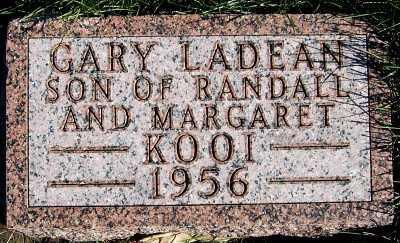 KOOI, GARY LADEAN - Sioux County, Iowa   GARY LADEAN KOOI