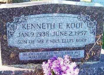 KOOI, KENNETH E. - Sioux County, Iowa | KENNETH E. KOOI