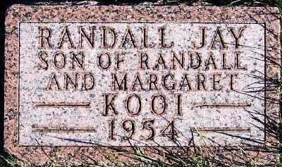 KOOI, RANDALL JAY - Sioux County, Iowa | RANDALL JAY KOOI