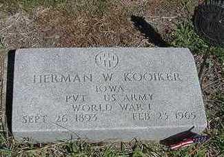 KOOIKER,  HERMAN J. - Sioux County, Iowa |  HERMAN J. KOOIKER