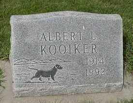 KOOIKER, ALBERT L. - Sioux County, Iowa | ALBERT L. KOOIKER