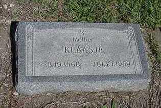 KOOIKER, KLAASJE - Sioux County, Iowa | KLAASJE KOOIKER