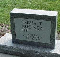 KOOIKER, TRESSA - Sioux County, Iowa   TRESSA KOOIKER