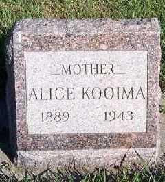 KOOIMA, ALICE - Sioux County, Iowa | ALICE KOOIMA