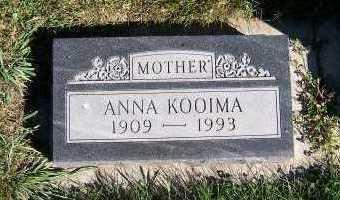 KOOIMA, ANNA - Sioux County, Iowa | ANNA KOOIMA