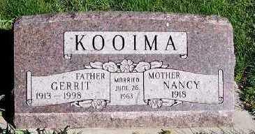 KOOIMA, GERRIT - Sioux County, Iowa | GERRIT KOOIMA