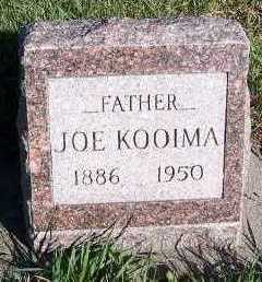 KOOIMA, JOE - Sioux County, Iowa   JOE KOOIMA