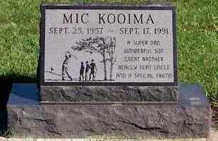 KOOIMA, MIC - Sioux County, Iowa | MIC KOOIMA