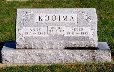 KOOIMA, PETER - Sioux County, Iowa | PETER KOOIMA