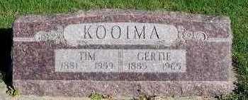 KOOIMA, GERTIE - Sioux County, Iowa | GERTIE KOOIMA