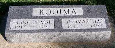 HARMELINK KOOIMA, FRANCES MAE - Sioux County, Iowa | FRANCES MAE HARMELINK KOOIMA