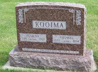 KOOIMA, ELSIENA - Sioux County, Iowa | ELSIENA KOOIMA