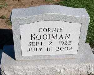 KOOIMAN, CORNIE - Sioux County, Iowa | CORNIE KOOIMAN