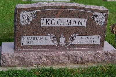 KOOIMAN, HERMAN - Sioux County, Iowa | HERMAN KOOIMAN