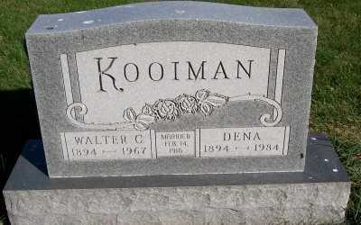 KOOIMAN, WALTER C. - Sioux County, Iowa | WALTER C. KOOIMAN