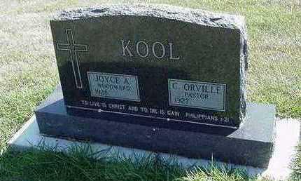 KOOL, C. ORVILLE - Sioux County, Iowa | C. ORVILLE KOOL