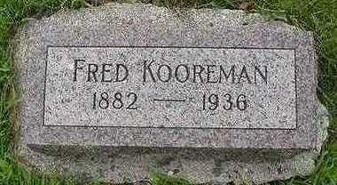 KOOREMAN, FRED - Sioux County, Iowa | FRED KOOREMAN