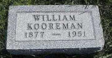 KOOREMAN, WILLIAM - Sioux County, Iowa   WILLIAM KOOREMAN