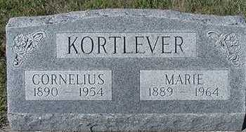 KORTLEVER, MARIE (MRS. CORNELIUS) - Sioux County, Iowa | MARIE (MRS. CORNELIUS) KORTLEVER