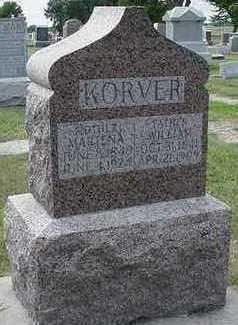 KORVER, MARTHA - Sioux County, Iowa | MARTHA KORVER