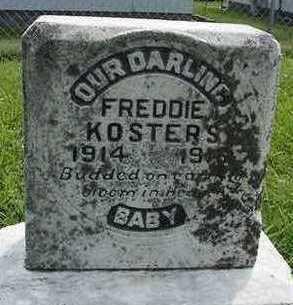 KOSTERS, FREDDIE - Sioux County, Iowa   FREDDIE KOSTERS