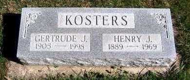 KOSTERS, GERTRUDE J. - Sioux County, Iowa | GERTRUDE J. KOSTERS